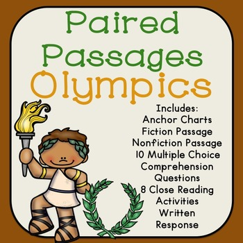 Olympics Reading Comprehension Paired Passages