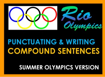 Olympics - Compound Sentences Review - Powerpoint Review &