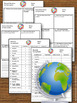 Social Studies Country Research Paper Graphic Organizer an