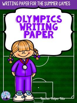 Olympics-Summer Olympics 2016 Writing Paper