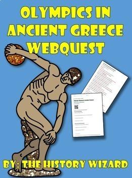 Olympics in Ancient Greece Webquest