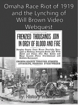 Omaha Race Riot of 1919 and the Lynching of Will Brown Vid