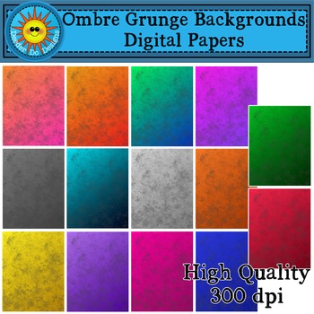 Ombre Grunge Backgrounds