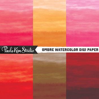 Digital Paper - Watercolor