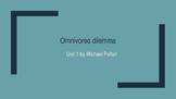 Omnivores Dilemma Unit