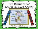 """On Cloud Nine"" Idiom Art Activity"