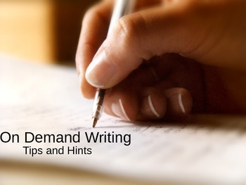 On Demand Writing Help