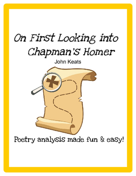 On First Looking into Chapman's Homer (John Keats) - Poetr