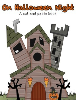 On Halloween Night (A Cut and Paste Book)