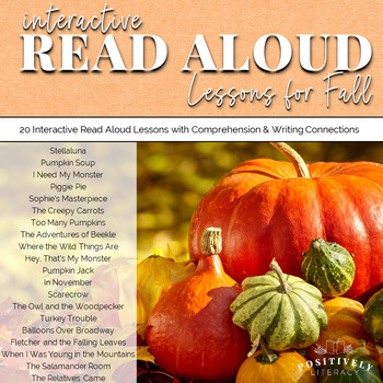 Fall Read Alouds: Interactive Read Alouds
