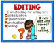 Writing Clip Chart - Writing Workshop