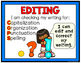Writing Clip Chart for Writing Workshop