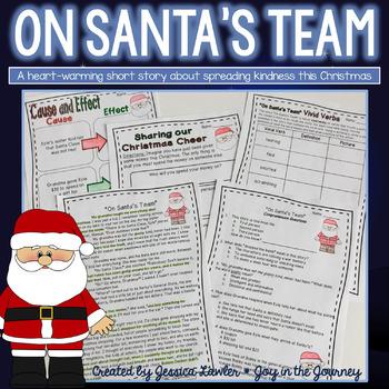 Christmas Reading Comprehension - On Santa's Team