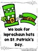 On St. Patrick's Day (Sight Word Emergent Reader)