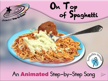 On Top of Spaghetti - Animated Step-by-Step Song SymbolStix