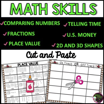 On Track, Off Track! Lots of fun math review!