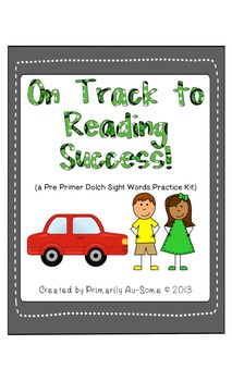 On Track to Reading Success Pre-Primer Dolch Words Edition