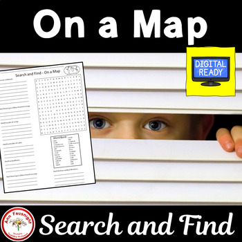 On a Map - Search and Find