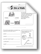 On a Walk (Thinking Skills)