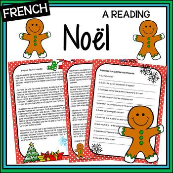 On célèbre Noël – We're celebrating Christmas – an origina
