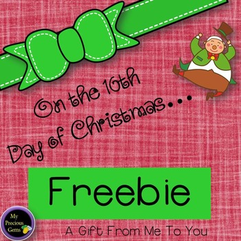 On the 10th Day of Christmas FREEBIE