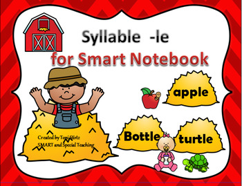 Orton Gillingham SMART Board Activities for Syllable -le