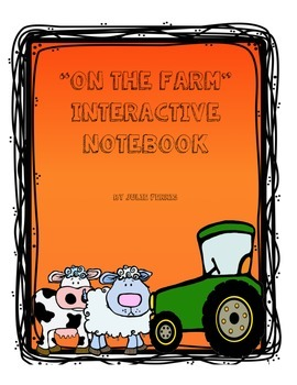 """""""On the Farm"""" Interactive Notebook"""