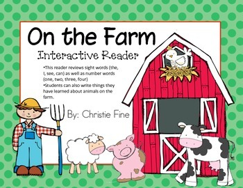 On the Farm Interactive Reader