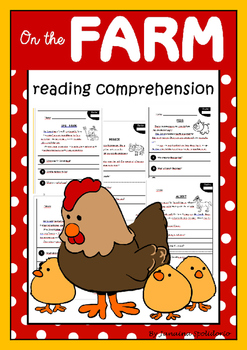 On the Farm - Reading Comprehension