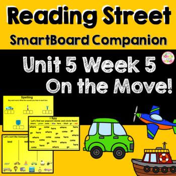 On the Move! SmartBoard Companion Kindergarten