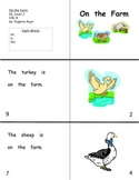 On the farm: Reproducible Guided Reading Book Level B