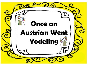 Once An Austrian Went Yodeling Camp Song pdf