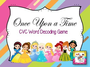 Once Upon a Time CVC Word Game