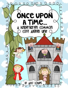 Once Upon a Time Math and Literacy Centers {A Fairy Tale U