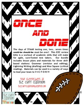 Once and Done: STAAR Blitz