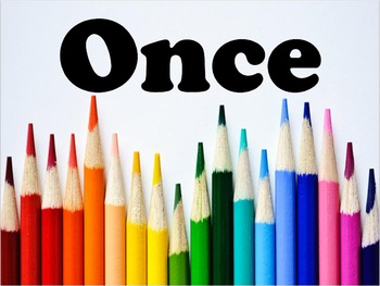 """Once you're done, you've just begun!"" Classroom Writing Poster"