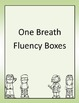 Fry Words: One Breath Fluency Boxes