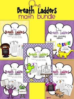 One Breath Ladders: Math Bundle