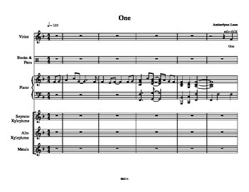 One (Can Change the World): A Choral & Orff song inspired