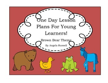 One Day Lesson Plans~ Brown Bear
