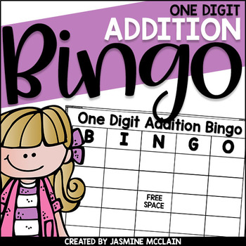 One Digit Addition Bingo