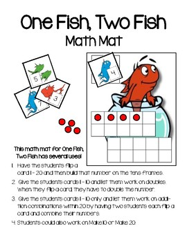 One Fish, Two Fish Math Mat