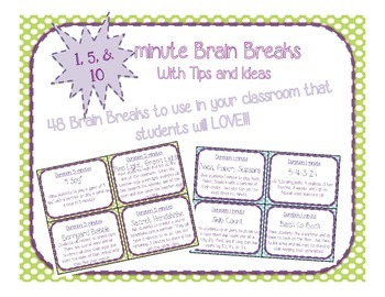 Brain Breaks for the Classroom