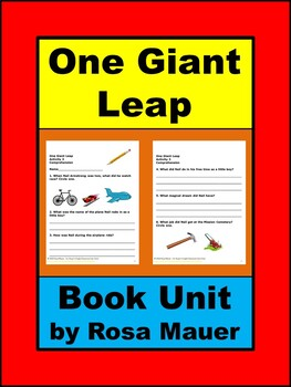 One Giant Leap by Don Brown Book Unit