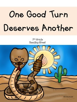 One Good Turn Deserves Another, 2nd Grade, Centers and Printables