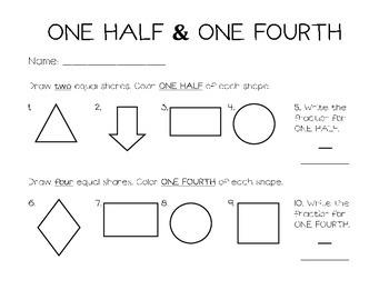 One Half & One Fourth