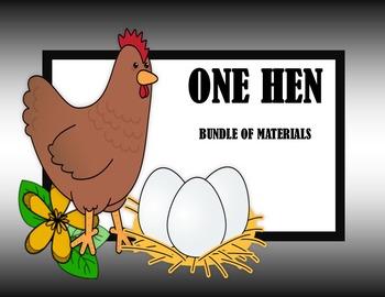 One Hen - Activities + Worksheets Bundled
