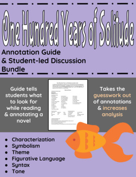 One Hundred Years of Solitude Annotation Guide and Student