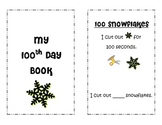 One Hundreth day mini book