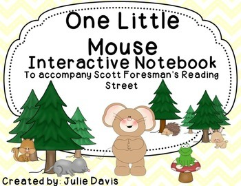One Little Mouse Interactive Notebook Journal